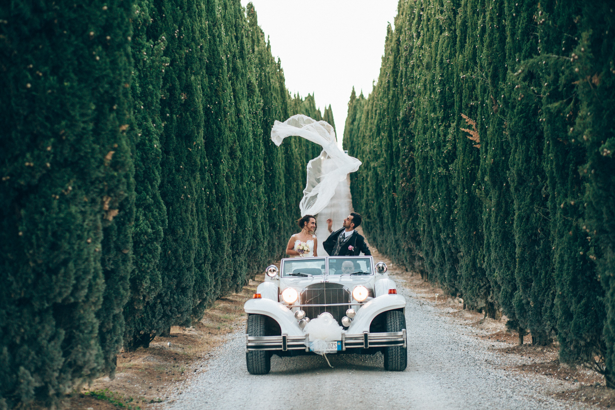 destination wedding from Germany to Tuscany